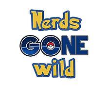 Nerds gone wild (Pokemon Go) Photographic Print