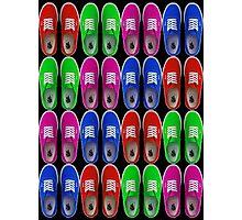 Vans - Multiple Colours Photographic Print