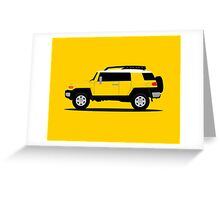 Simplistic Offroader Profile  Greeting Card