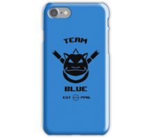 Team Blue iPhone Case/Skin