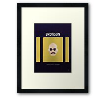 Bronson - Favorite Films Framed Print