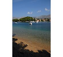 Adriatic Coast Photographic Print