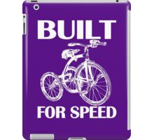 BUILT FOR SPEED-TRICYCLE iPad Case/Skin