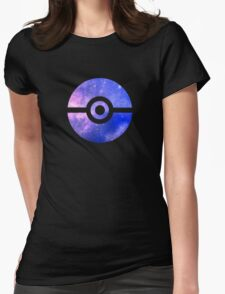 Galaxy Ball Womens Fitted T-Shirt