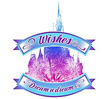 Wishes - Dream a dream Photographic Print