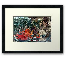 Siren Spa & Salon Framed Print