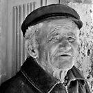 Santorini Seaman  by phil decocco