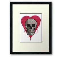 Love in Darkness Framed Print