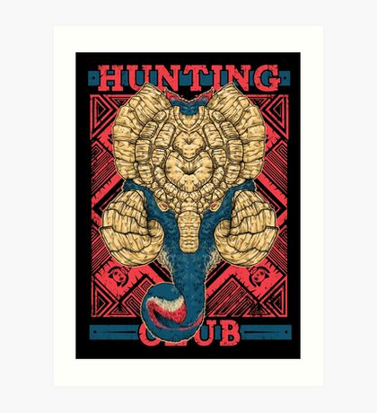 Hunting Club: Gammoth  Art Print