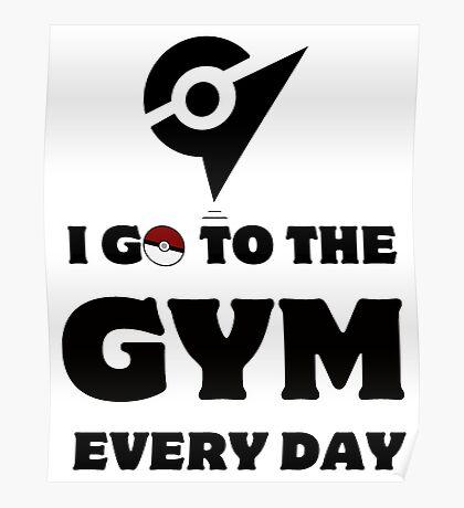 Pokemon Go - Gym Poster