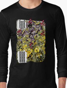 Star Platinum VS The World Colorful Long Sleeve T-Shirt