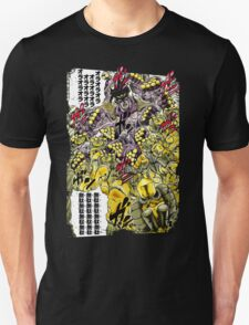 Star Platinum VS The World Colorful T-Shirt