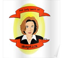 Our Lady Saint of Skeptics Poster