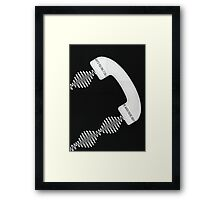 Why'd You Only Call Me When You're High? Framed Print