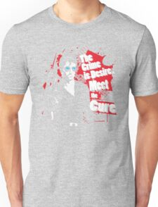 The crime is Desire. Meet the Cure. Unisex T-Shirt
