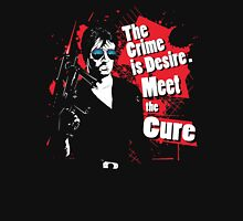 The crime is Desire. Meet the Cure. Classic T-Shirt