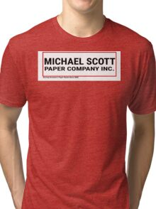 Michael Scott Paper Company Tri-blend T-Shirt
