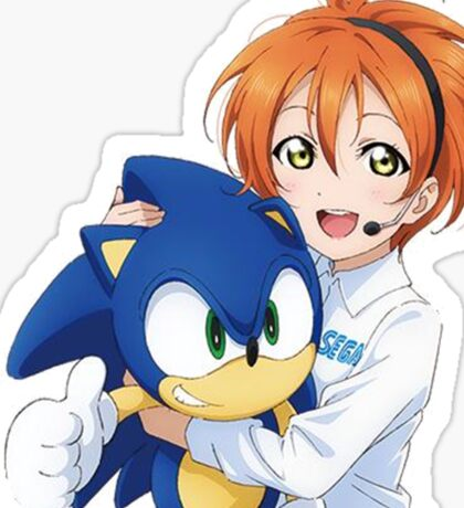 Rin Hoshizora SEGA Sonic the Hedgehog Sticker