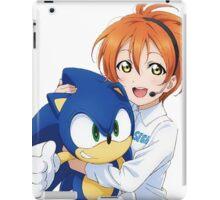 Rin Hoshizora SEGA Sonic the Hedgehog iPad Case/Skin