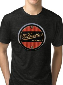 Velocette Vintage Motorcycles England Tri-blend T-Shirt