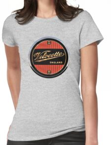 Velocette Vintage Motorcycles England Womens Fitted T-Shirt