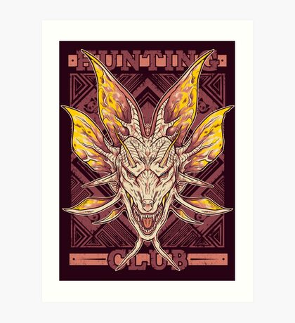 Hunting Club: Mizutsune Art Print