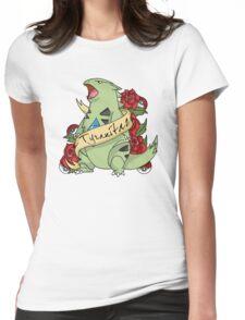 Tyranatar tattoo Womens Fitted T-Shirt
