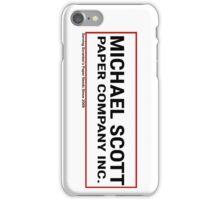 Michael Scott Paper Company for Iphones iPhone Case/Skin