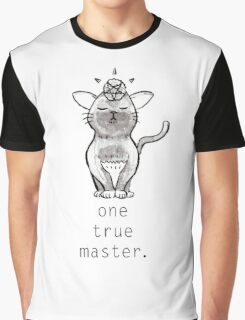 Satancat has one true master Graphic T-Shirt