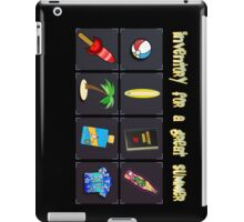 Inventory for a great summer iPad Case/Skin