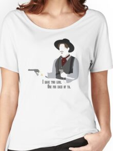 Tombstone: Two Guns Women's Relaxed Fit T-Shirt