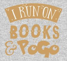 I run on books and PoGo One Piece - Short Sleeve