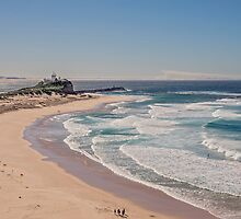 Nobbys Beach, Newcastle Australia by Allport Photography