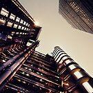 Lloyds Building 1 by Darren Bailey LRPS