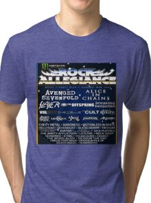 ROCK ALLEGIANCE LINEUP 2016 Tri-blend T-Shirt