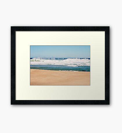 Bar Beach, NSW Australia Framed Print