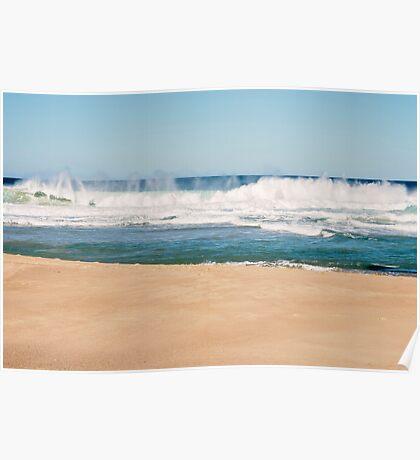 Bar Beach, NSW Australia Poster