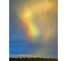 Iridescent Clouds And Diffraction Photographic Print