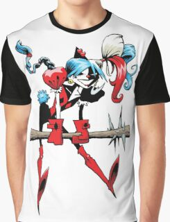 Harlequin Girl Graphic T-Shirt