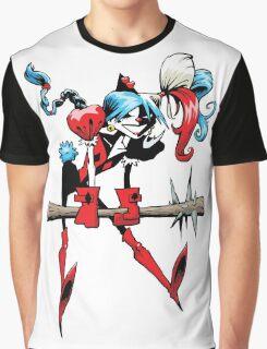 Harlequin Girl Graphic T-Shirt