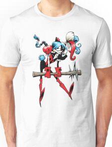 Harlequin Girl Unisex T-Shirt