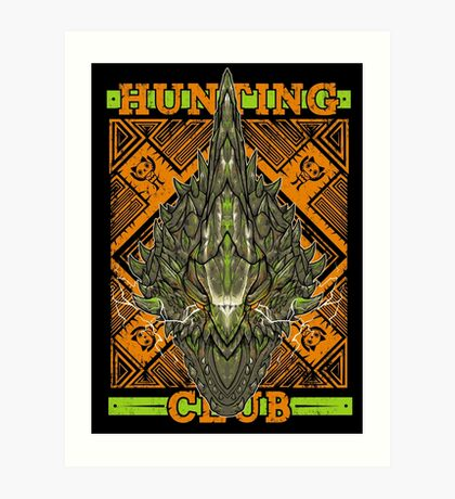 Hunting Club: Astalos Art Print