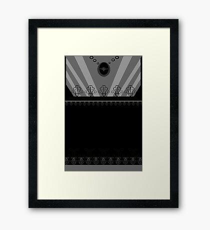 Ediemagic Goth Girl Framed Print