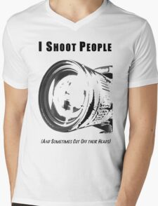 My Real Hobby Mens V-Neck T-Shirt