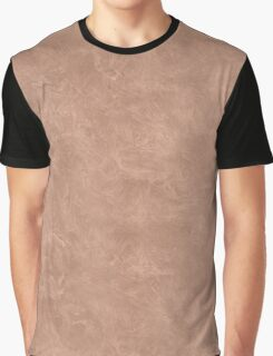 Cafe au Lait Oil Pastel Color Accent Graphic T-Shirt