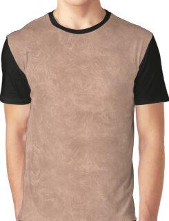 Cafe au Lait Oil Pastel Color Accent Graphic T-Shirt