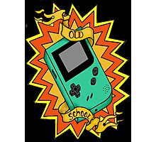 Game Boy Old School Photographic Print