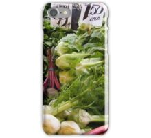 A table full of wonderful vegetables...   iPhone Case/Skin