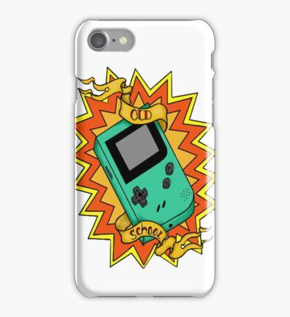 Game Boy Old School iPhone Case/Skin