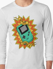 Game Boy Old School Long Sleeve T-Shirt